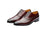 Leon Burgundy Party Oxfords- Premium Leather Handcrafted Shoes