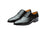 Mario Black Party Oxfords- Premium Leather Handcrafted Shoes