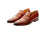 Marques Tan Brown Party Loafers- Premium Leather Handcrafted Shoes
