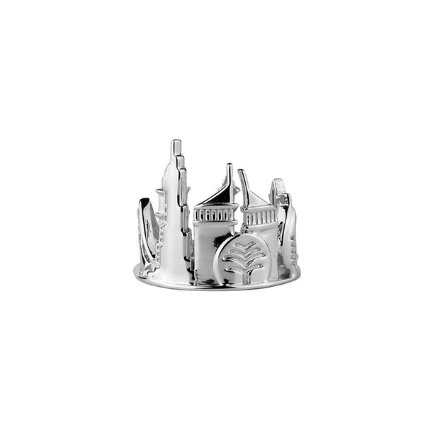 Dubai Sterling Silver Ring - Silver Plated