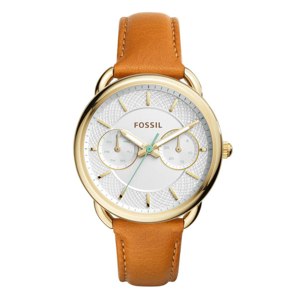 Fossil Tailor White Dial Ladies Multifunction Watch