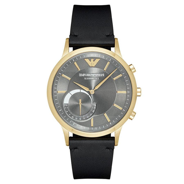 Emporio Armani Men's Renato Hybrid Smartwatch Black - ART3005
