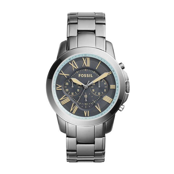 Fossil Grant Men's Gunmetal Dial Chronograph Watch FS5185
