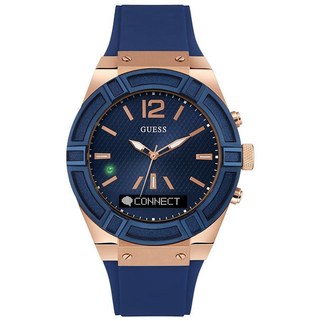 Guess Connect Voice Command Men's Smartwatch - C0001G1