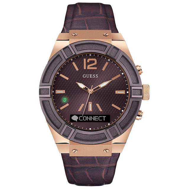 Guess Connect Voice Command Men's Smartwatch - C0001G2