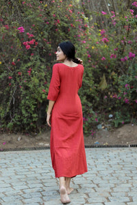 Red Essential Dress