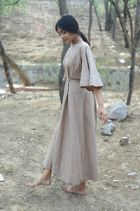 Rusty Long Dress