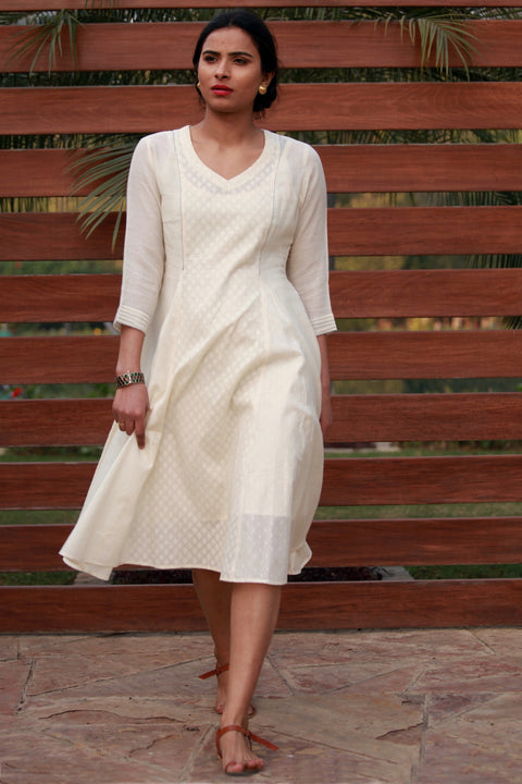Astha and Sidharth -Cotton Dobby  Dress-1606