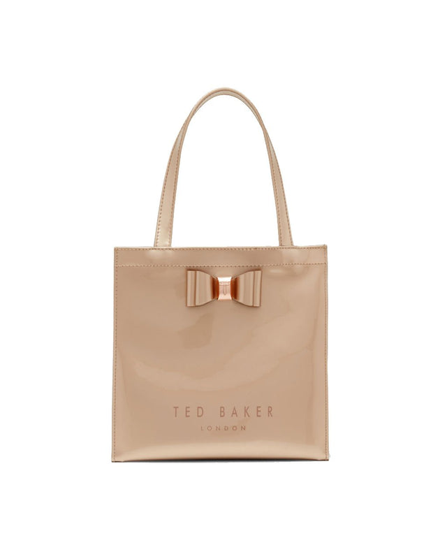 Bow Detail Small Icon Bag - Rose Gold