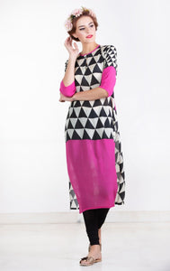 Pink Triangle Tunic