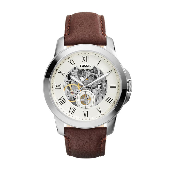Fossil Grant Men's Brown Dial Analog Watch ME3052