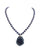 Midnight Blue Beaded Necklace