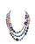 Multi Strand Semi Precoius Necklace