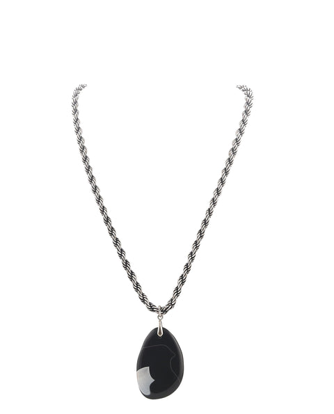 Midnight Drop Necklace
