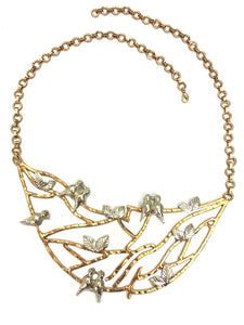 Artsie Ville-Perched Necklace