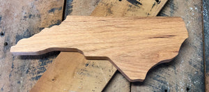 "NC Shaped Cutting Board 13"" x 5.5"" x .75"""