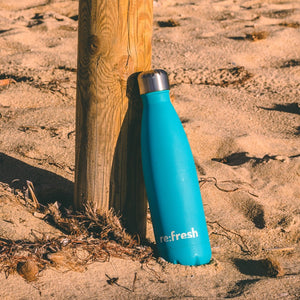 Signature 500ml Charity Bottle - Metal Water Bottle - We Are Refreshed - Re:Fresh