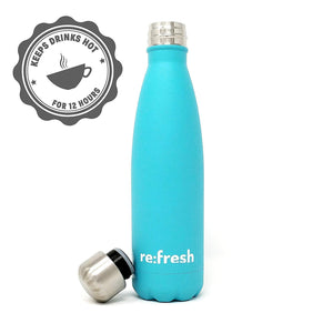 Signature 500ml Charity Bottle - Metal Water Bottle - Gannet and Cloth