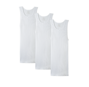 Adult: Men 3 Pack A-shirt Tank Tops