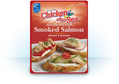 Chicken of the Sea- Smoked Salmon