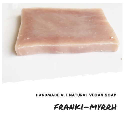 Franki-Myrrh Handmade All Natural Vegan Soap Bar