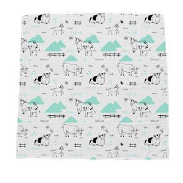 "Swaddle Blanket ""Rolling Pastures"""
