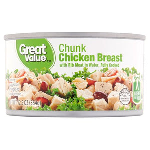 Fully Cooked Chunk Chicken Breast