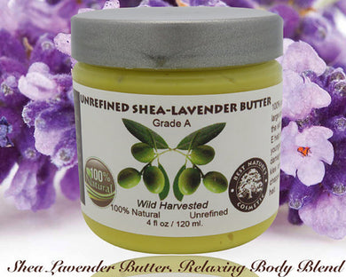 Shea Lavender Butter. Relaxing Body Blend.