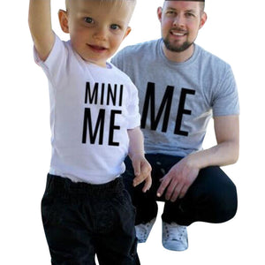 Matching Apparel: Mini- Me Matching Shirts
