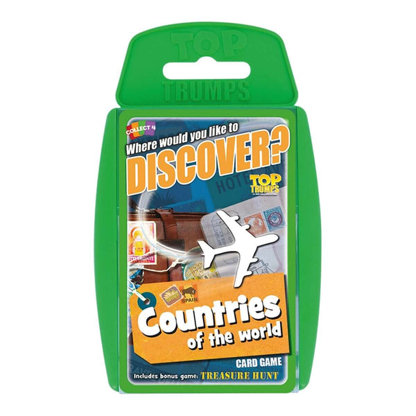 Countries Of The World Top Trumps Educational card game