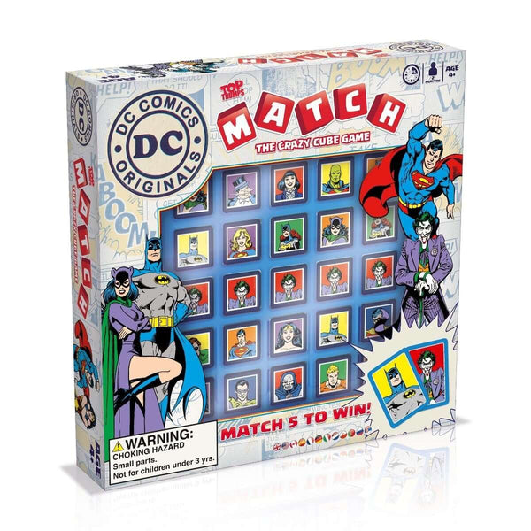 DC Comics Top Trumps Match Board Game - Top Trumps USA