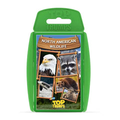 North American Wildlife Top Trumps