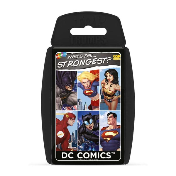 DC Comics Top Trumps Educational card game