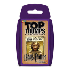 Harry Potter & the Prisoner of Azkaban Top Trumps