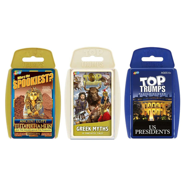 Interesting History Top Trumps Bundle - Top Trumps USA