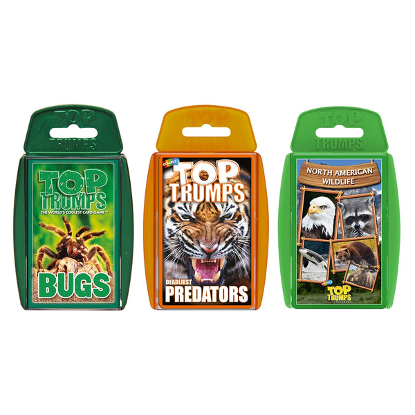 Cute Animals Top Trumps Bundle Card Game