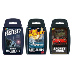 Mean Machines Top Trumps Bundle