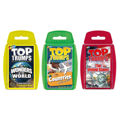 Explore our World Top Trumps Bundle