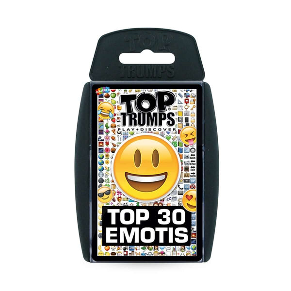 Top 30 Emotis Top Trumps - Top Trumps USA