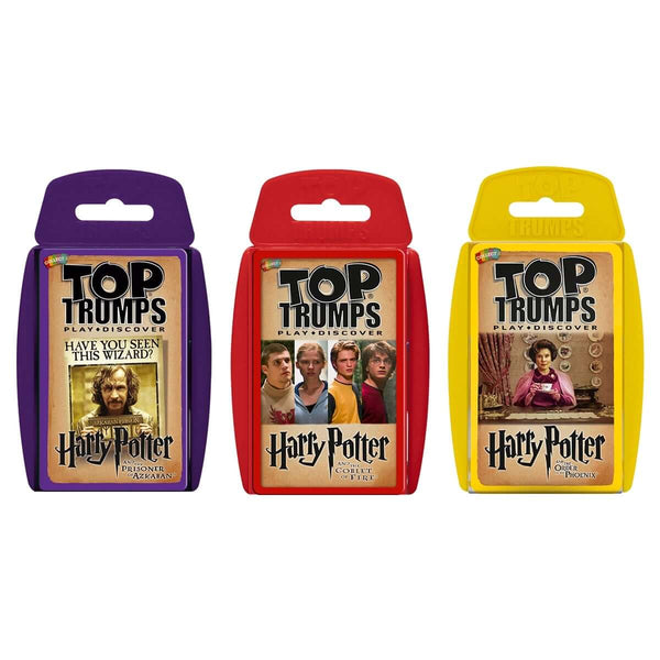 Harry Potter Top Trumps Bundle - Top Trumps USA