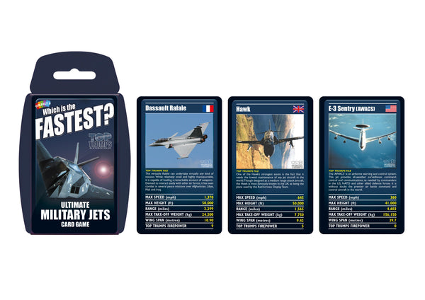 Ultimate Military Jets Top Trumps - Top Trumps USA