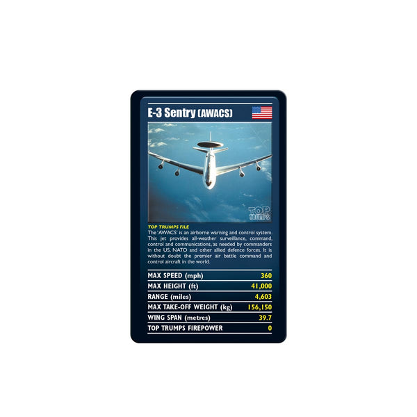 Ultimate Military Jets Top Trumps