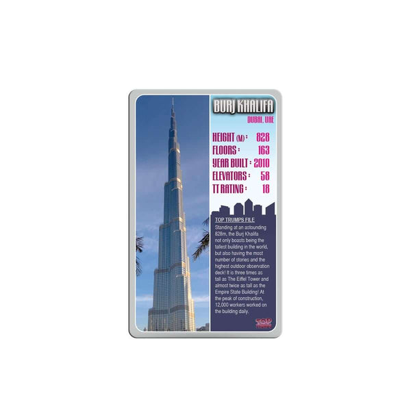 Skyscapers Top Trumps - Top Trumps USA