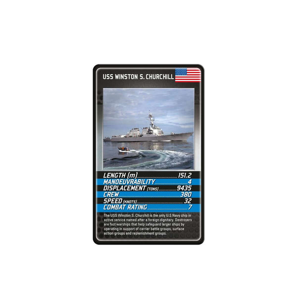 Battleships Top Trumps - Top Trumps USA