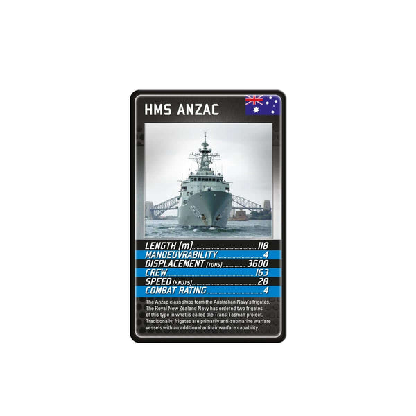 Battleships Top Trumps