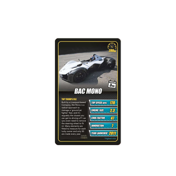 Sports Cars Top Trumps - Top Trumps USA