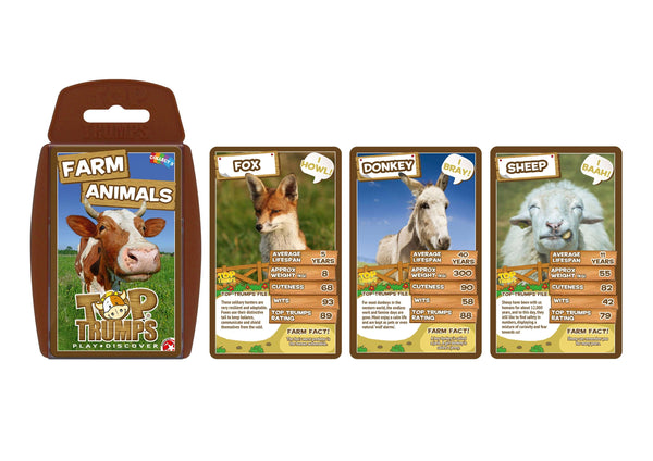 Farm Animals Top Trumps