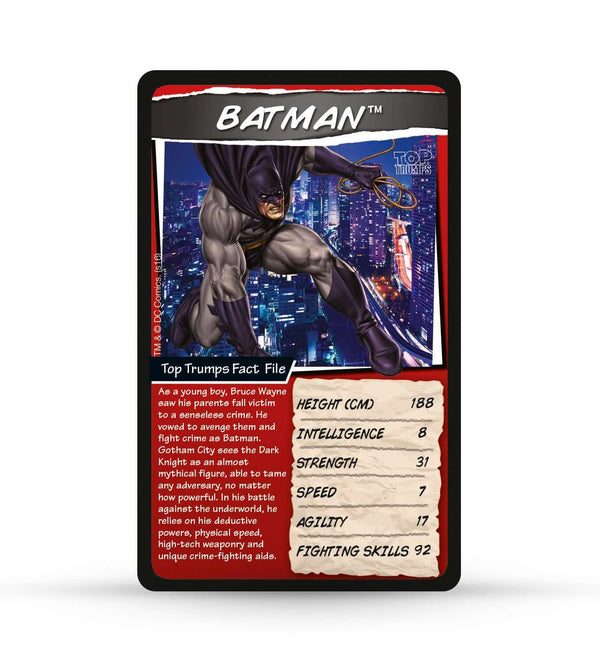 DC Comics Top Trumps