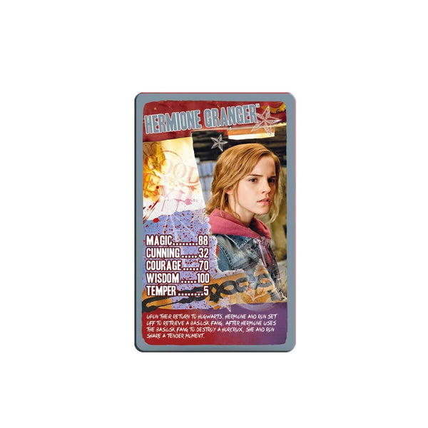 Harry Potter the Deathly Hallows Part 2 Top Trumps