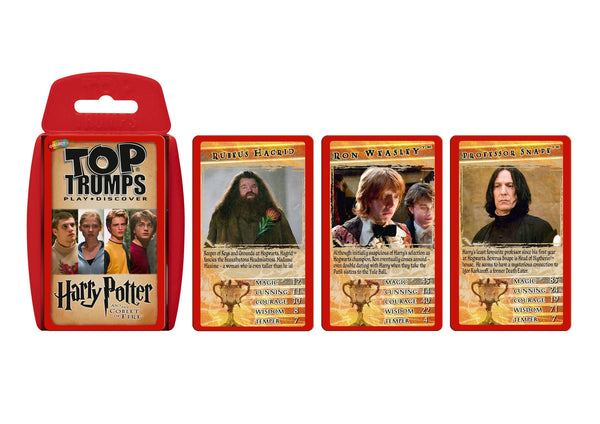 Harry Potter & the Goblet of Fire Top Trumps - Top Trumps USA